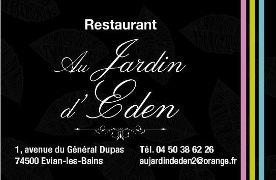 RESTAURANT AU JARDIN D'EDEN